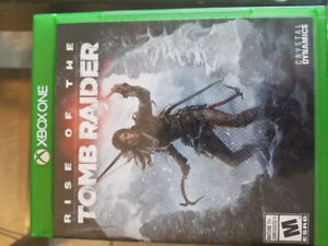 RISE OF THE TOMB RAIDER - GREAT CONDITION $20