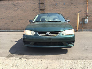 2001 Toyota Corolla Sedan. Certified, Warranty. Negotiable