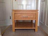 Harvey's oak wood table