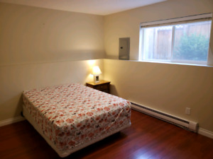 2 furnished basement rooms for rent