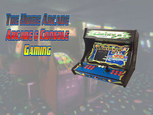 New The Home Arcade Bartop Cabinet with over 7,000 games & Wty