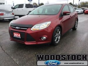 2014 Ford Focus SE  LUXURY GROUUP-LEATHER-ROOF