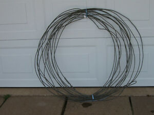 ...40 FEET of EXTRA HEAVY-DUTY STRAIGHT WIRE....