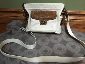 Coach White Leather Cross-Body Bag - EXCELLENT Condition