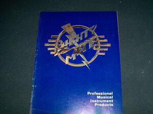 VINTAGE 1979 MIGHTY MITE MUSICAL INSTRUMENTS CATALOG-GUITARS+