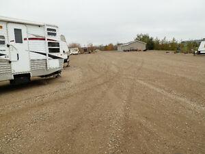 RV,boat,vehicle storage-19km south of grasswood esso