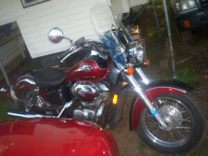 2001 Honda Shadow Ace 750 cc also selling sports cars etc.