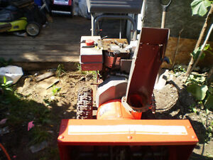"NOMA  8/25"" Dual Stage  snowblower  for sale"