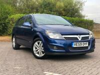 2010 VAUXHALL ASTRA 1.6I 16V VVT SXI MANUAL PETROL 5 DOOR HATCHBACK