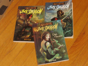JACK SPARROW-- TRIO-- PIRATES CARAÏBES--       de  ROB KIDD