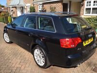 Audi A4 SE tdi 140 estate 2006 lovely car AA/rac welcome p-ex welcome ,new cambelt.and clutch