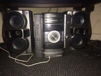 Sony stero system with aux cable