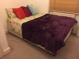 Divan double bed base for sale £20 (without mattress)