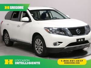 2015 Nissan Pathfinder SL 4X4 7PASSAGERS CUIR MAGS BLUETOOTH CAM