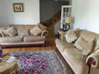 Sofa for 3 persons (2) pieces