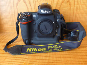 NIKON D3s amateur useage body for sale