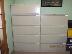Excellent Condition - Office Specialty Filing Cabinets For Sale