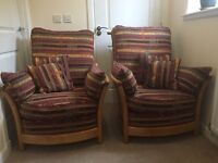 *REDUCED!!* 'Ercol' Sofa and 2xchairs (3piece suite
