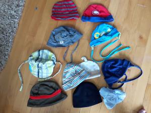 Lot chapeaux été /automne
