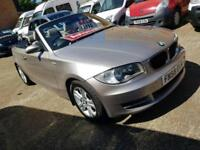 2008 58 BMW 118I Convertible Auto - Leather Seats and 3 Month Warranty