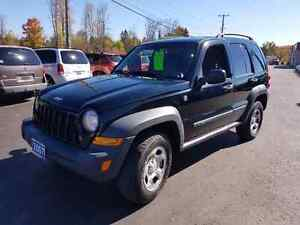 2007 jeep liberty 4x4 161k certified etested
