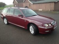 ROVER 75 CLUB SE CDT TOURER,ESTATE 2.0 ltr DIESEL,ONLY 92000 MILES,£995!