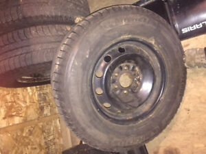 4 Ford F-150 winter tires and wheels