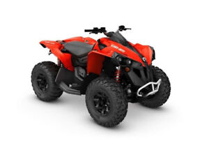 2017 Can Am Renegade Base Model 850 / Brand New