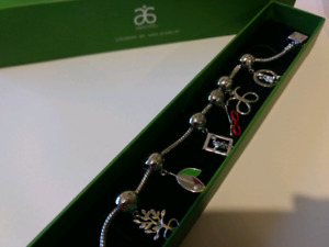 Arbonne Jewellery (Necklace and Charm Bracelet)