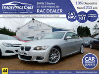 CAR FINANCE FROM JUST 4.5% BMW 3 Series 3.0 335d M Sport