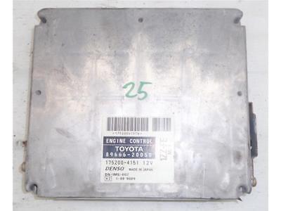 8966620050 CENTRALINA MOTORE ECU DENSO TOYOTA AVENSIS (T22) 1.8B 16V 129CV (2002