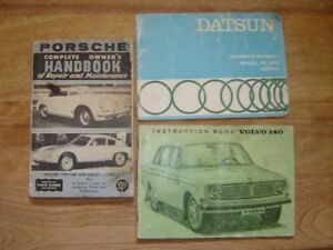 Automotive books Vintage