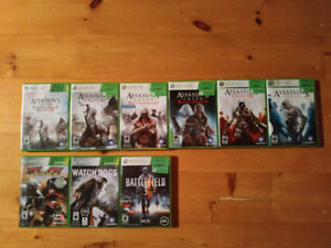 Xbox 360, Xbox Kinect, and games