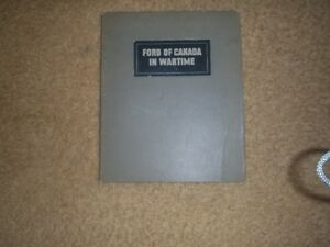 Ford OF Canada in Wartime book