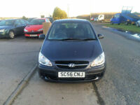 2006 56 Hyundai Getz 1.1 GSi Petrol Grey 5 Door NEW MOT WITH CAR.