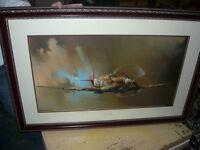 SpitFire print by Barrie A.F. Clark