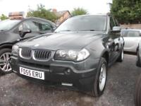 2006 BMW X3 2.0i - FSH Climate, F&R Park Sensors, Privacy Glass