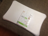 Wii Balance Board + Wii Fit game