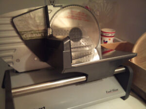 Compact CUISINART FOOD SLICER  - NEVER USED - Spotlessly Clean!