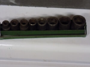 METRIC 3/8  DRIVE IMPACT SOCKET SET