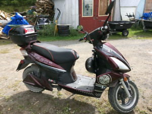 KYPRO X7 E bike trade for gas scooter