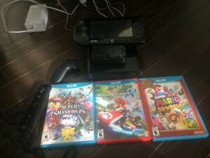 Nintendo 32gb Wii U with 4games