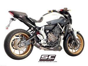 SC Project CRT Exhaust Yamaha Fz 07