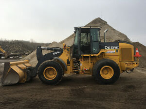 2006 - John Deere 624J Wheel Loader