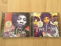 The Jimi Hendrix Experience 2 CD Albums Electric Ladyland/Experienced