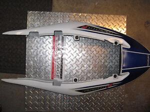 2007 Suzuki GS500 Complete Tail Fairings