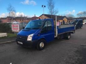 2012 Ford Transit 2.2TDCi ( 100PS ) RWD 350 Dropside-Chassis Cab-NO VAT