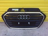Audi A3 front grill genuine 2017 facelift bumer