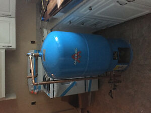 41 GALLON HOT WATER MAKER. ALSO FURNACE IF INTERESTED.
