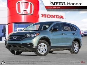 Honda CRV CERTIFIED LX AWD PST Paid 2013